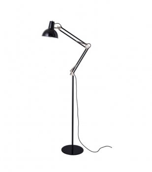 SPRING-BALANCED FLOOR LAMP